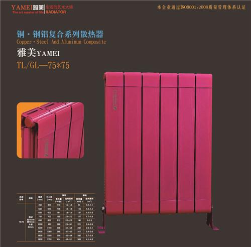 铜.铜铝复合系列散热器