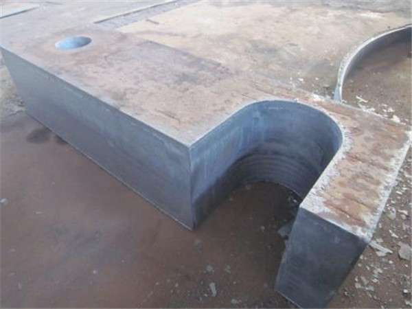 数控火焰切割钢板切割轴承座
