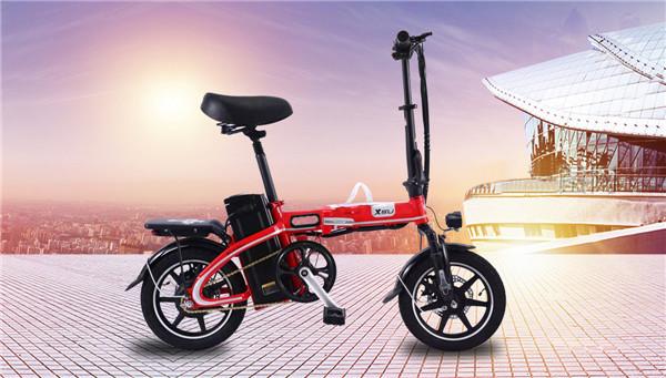 天津自行车式电动车