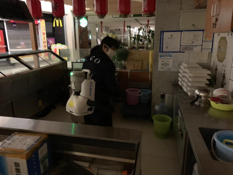 天津麦当劳消毒杀菌