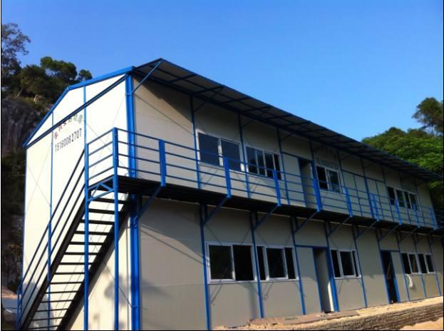 二层彩钢房回收