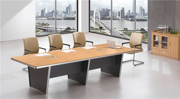 多人板式会议桌