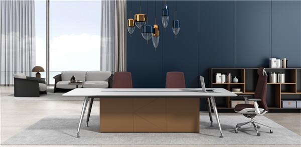 双人板式会议桌