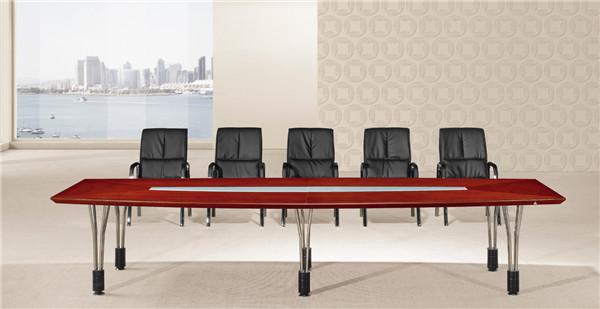 天津实木油漆会议办公桌