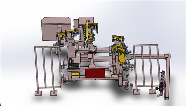 自动化设备改造汽车焊接夹具