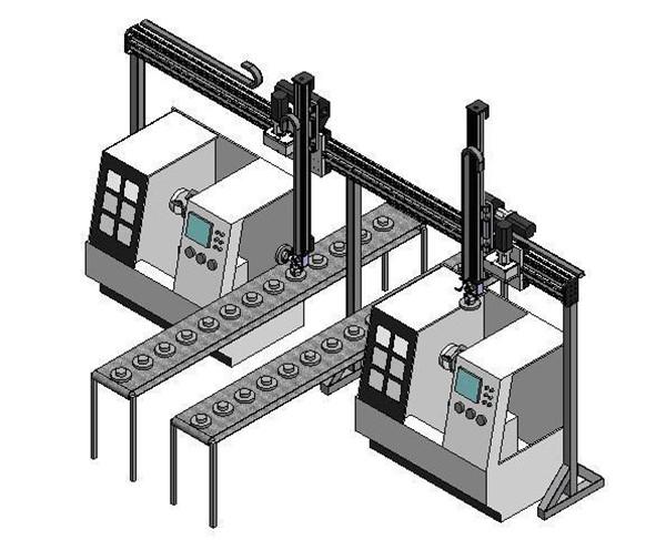 非标自动化设备上下料机械手