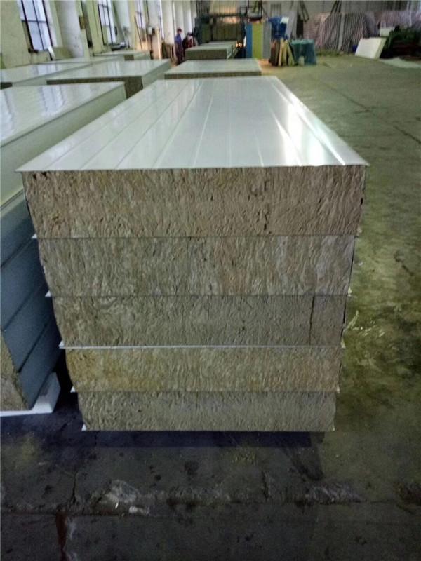 现货彩钢岩棉复合板