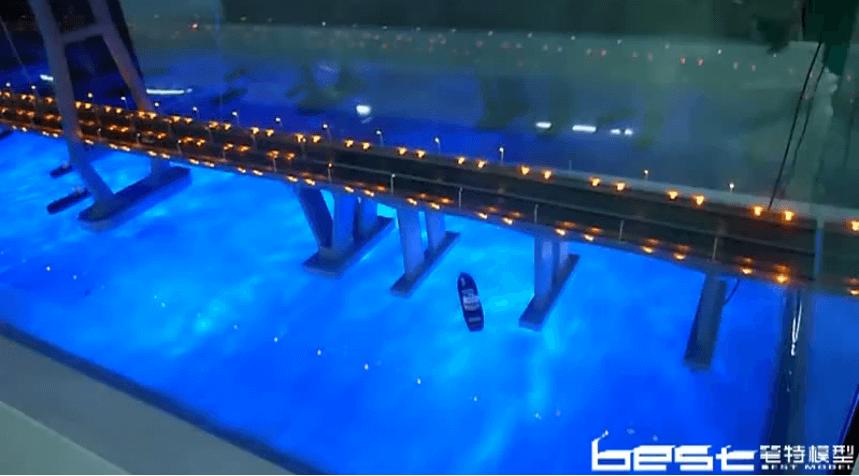 中国路桥集团定制 印尼马都拉大桥 模型图片视频