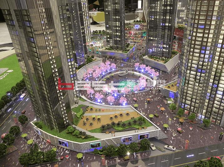 沈陽沈陽裕景中心 電子沙盤模型制作