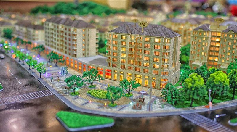 河北沙盤模型