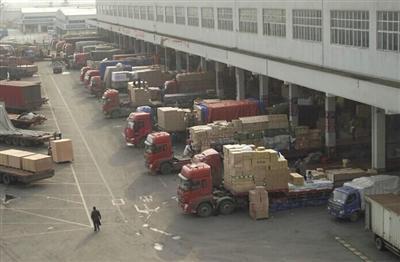 貨物運輸代理車隊展示