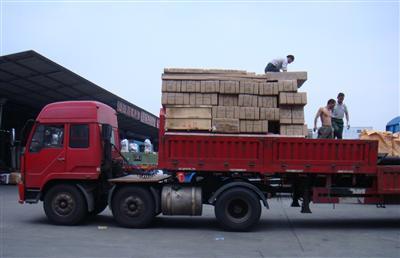 天津市内的物流公司展示