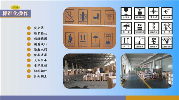天津市配貨站標準化操作