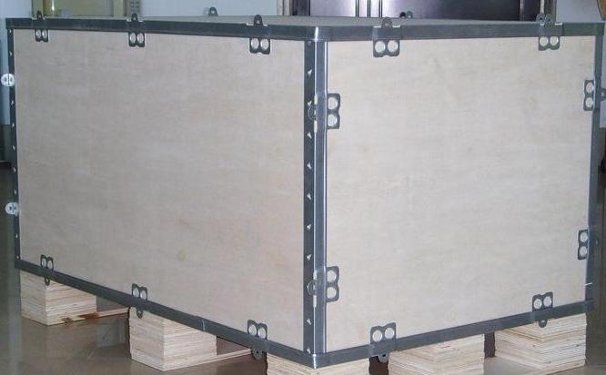 钢带包装木箱