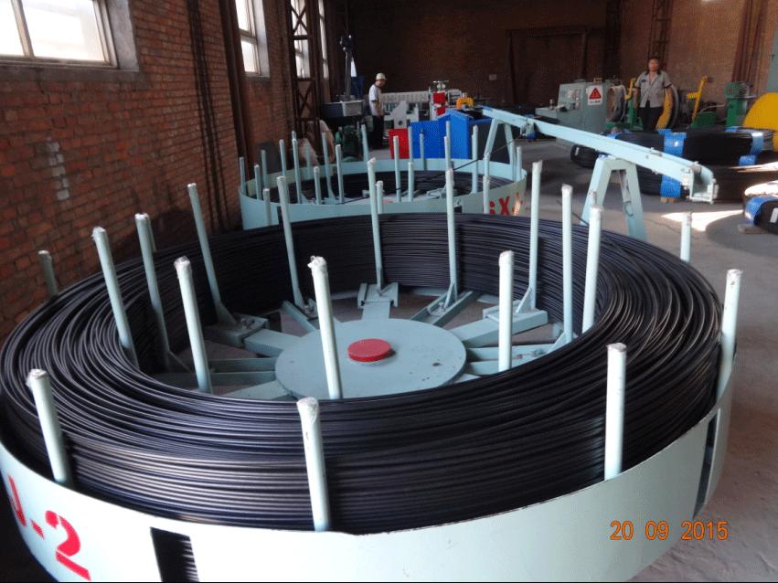 涂塑鋼絲生產線