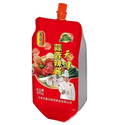鑫合顺天津蒜蓉辣酱450g