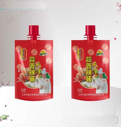 鑫合顺天津蒜蓉辣酱100g