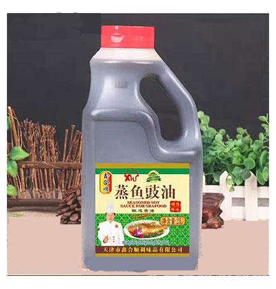 鑫合顺蒸鱼豉油酿造酱油2L
