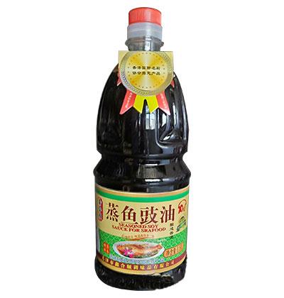 鑫合顺蒸鱼豉油酿造酱油1.8L