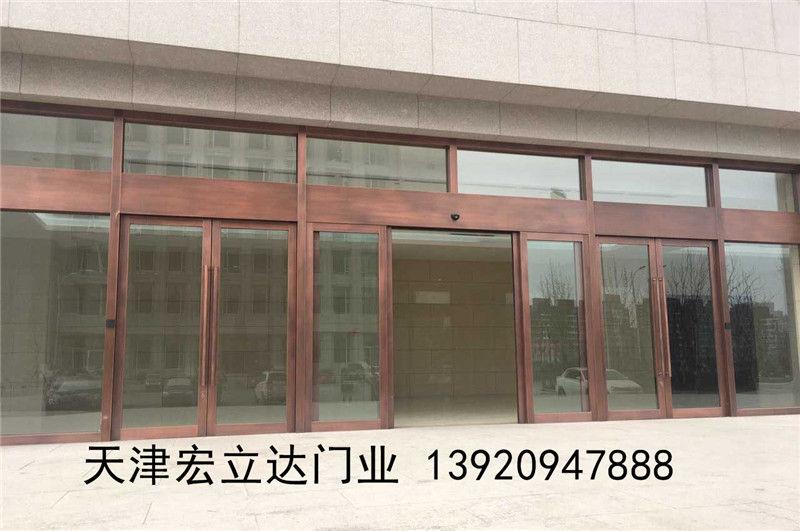 天津感應門規格樣式