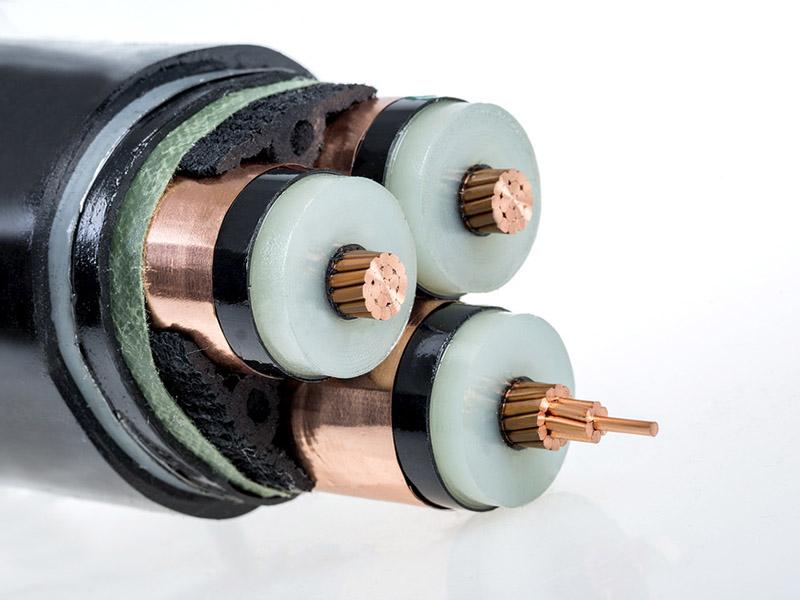銅芯交聯聚乙烯絕緣聚氯乙烯護套