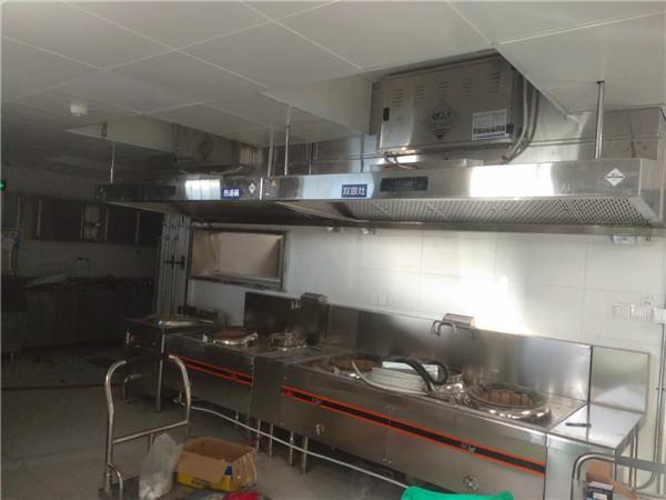 商用廚具施工現場