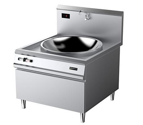 廚房設備-電磁單頭大炒爐