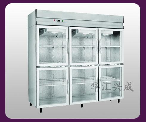 天津廚房設備六門陳列柜供應商