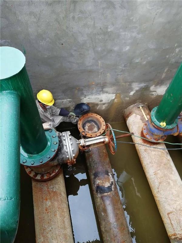 管道帶壓堵漏施工工具